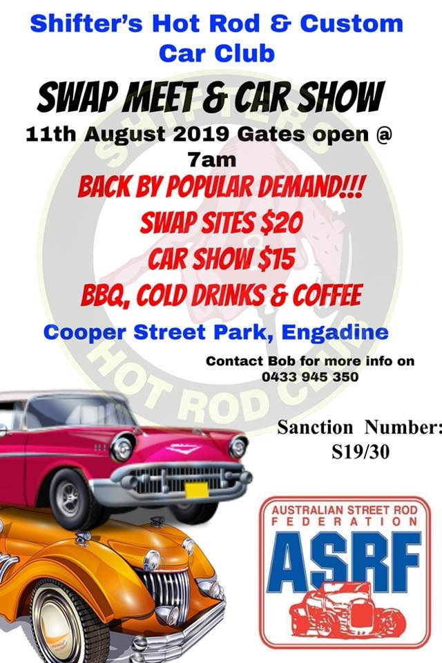 Shifters Annual Swapmeet 2019 @ 1148 Old Princes Hwy, Engadine NSW 2233 | Engadine | New South Wales | Australia