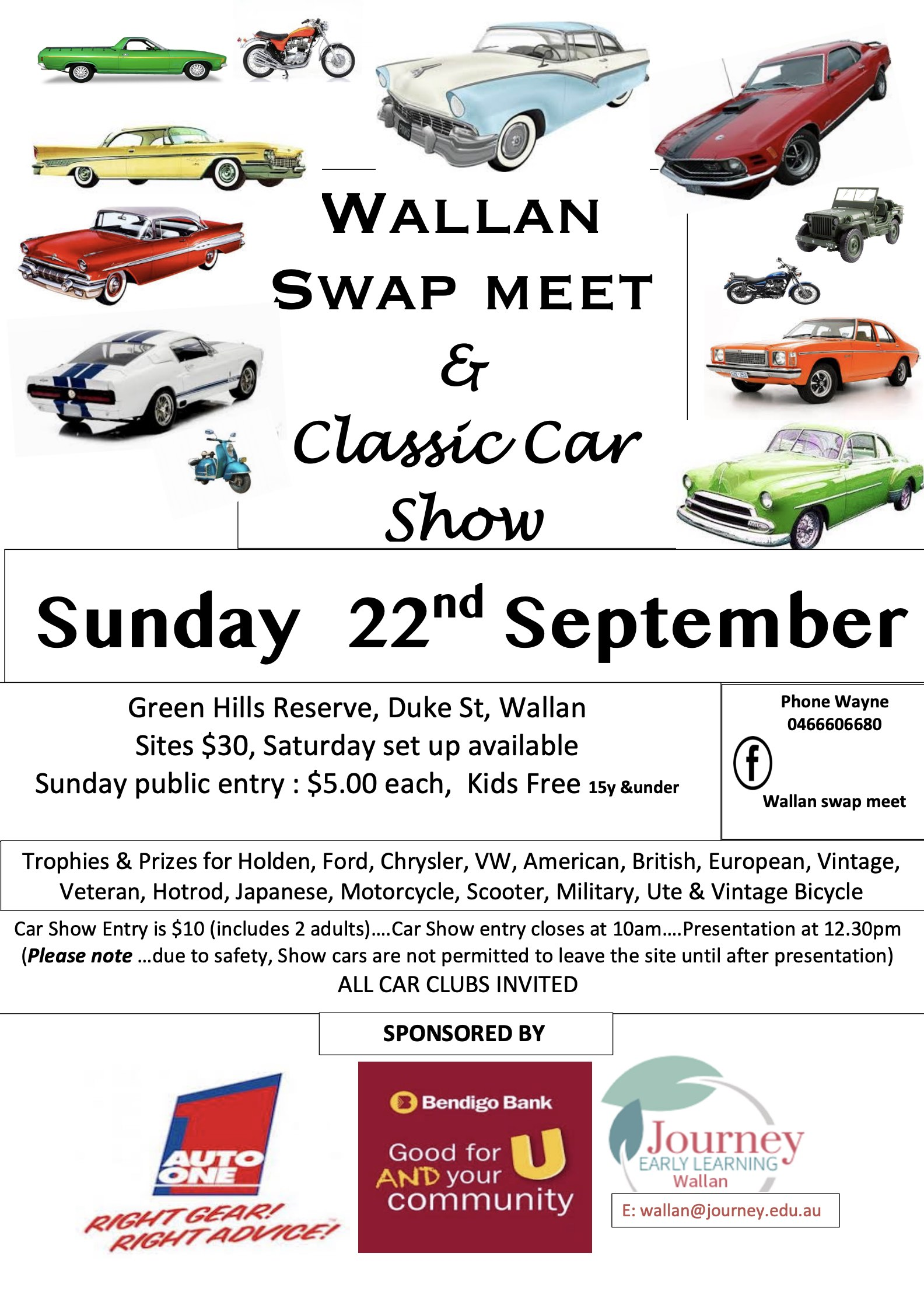Wallan Swapmeet 2019 @ Wallan Footy Ground | Wallan | Victoria | Australia