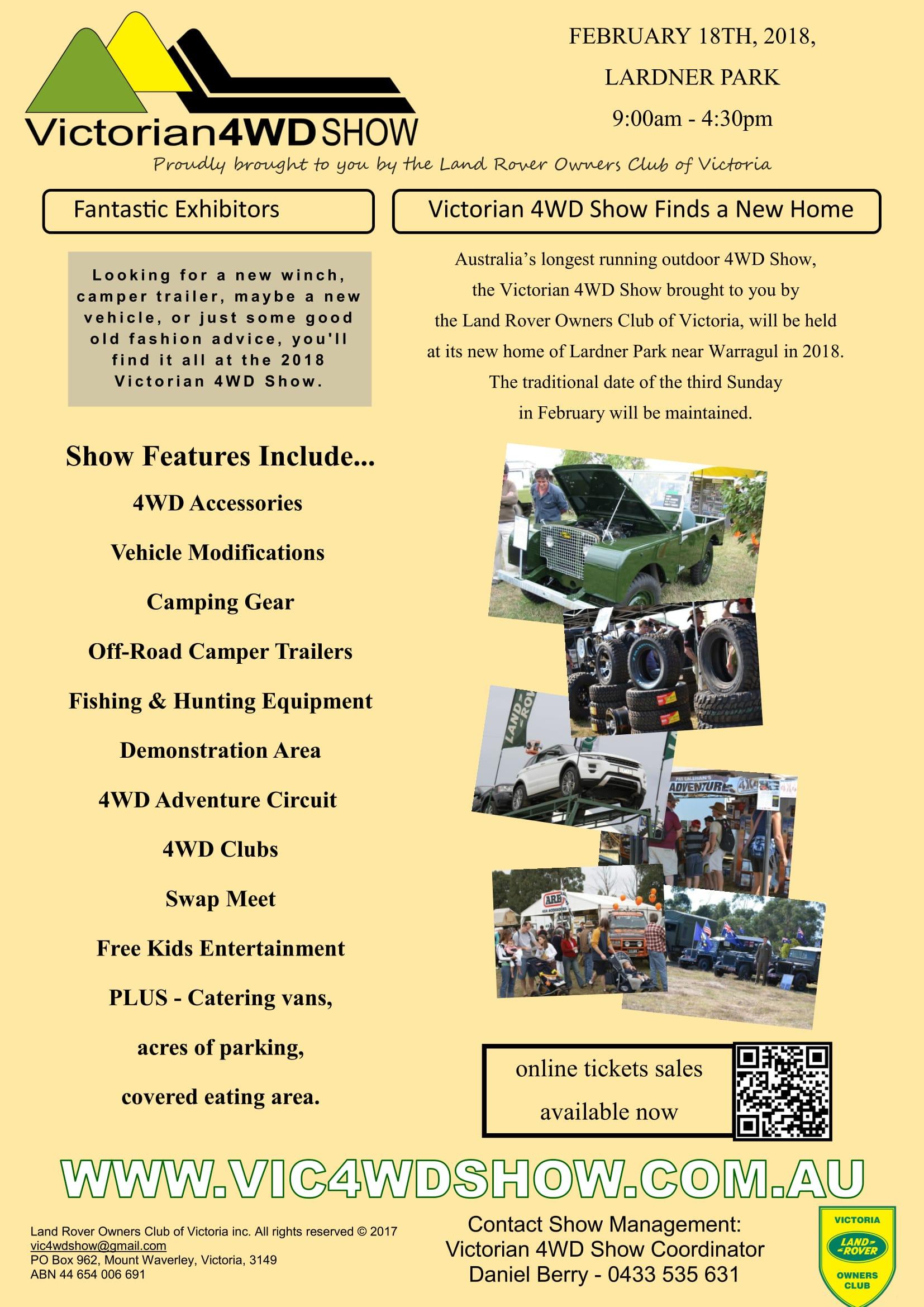 Victorian 4WD show and swapmeet 2018 @ LARDNER PARK | Lardner | Victoria | Australia