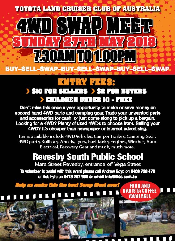 Toyota Land Cruiser Club Swapmeet 2018 @ Revesby South Public School | Revesby | New South Wales | Australia