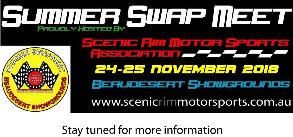 SUMMER SWAP MEET 2018 @ Beaudesert Showgrounds | Beaudesert | Queensland | Australia