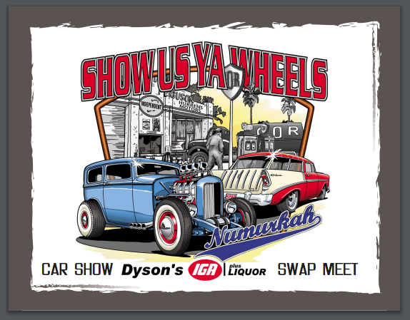 Show Us Ya Wheels - Car Show and Swap Meet @ Numurkah Showgrounds, Tunnock Rd; Numurkah, Vic, 3636 | Numurkah | Victoria | Australia