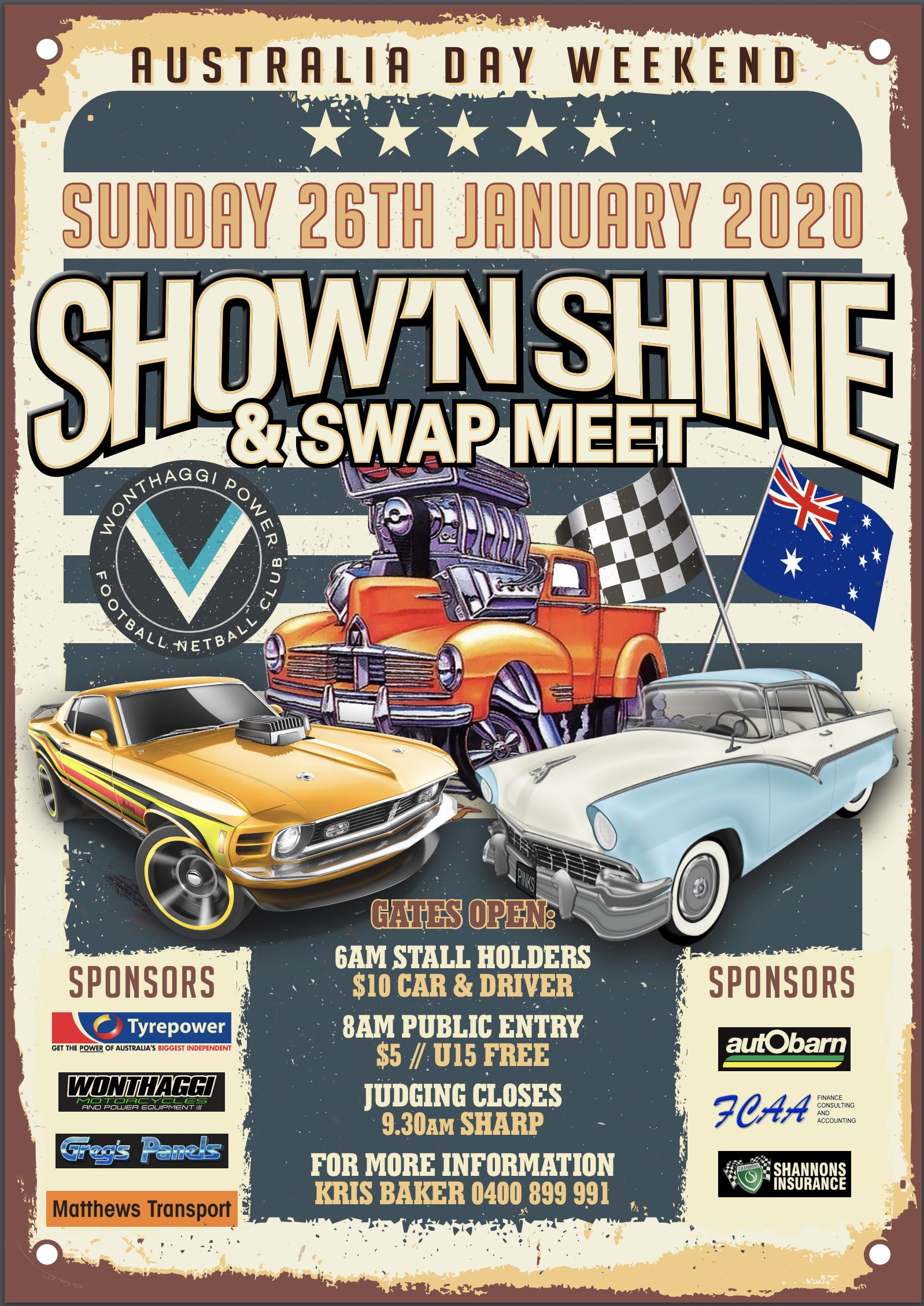 Wonthaggi - Australia Day Swapmeet and Show & Shine 2020 @ Wonthaggi Rec Reserve in South Gippsland Vic | Wonthaggi | Victoria | Australia