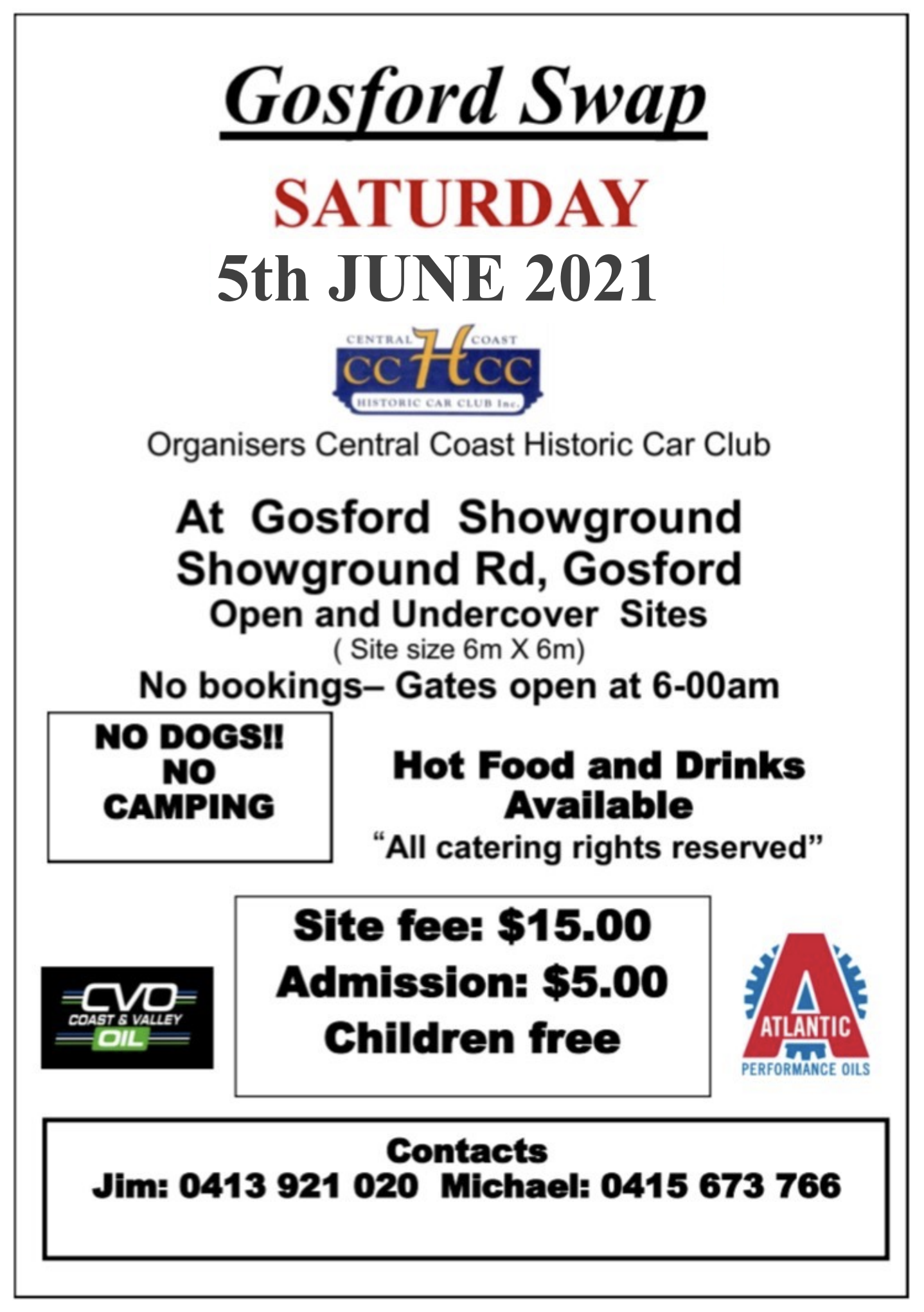 Gosford Swapmeet 2021 @ Gosford Showground | New South Wales | Australia