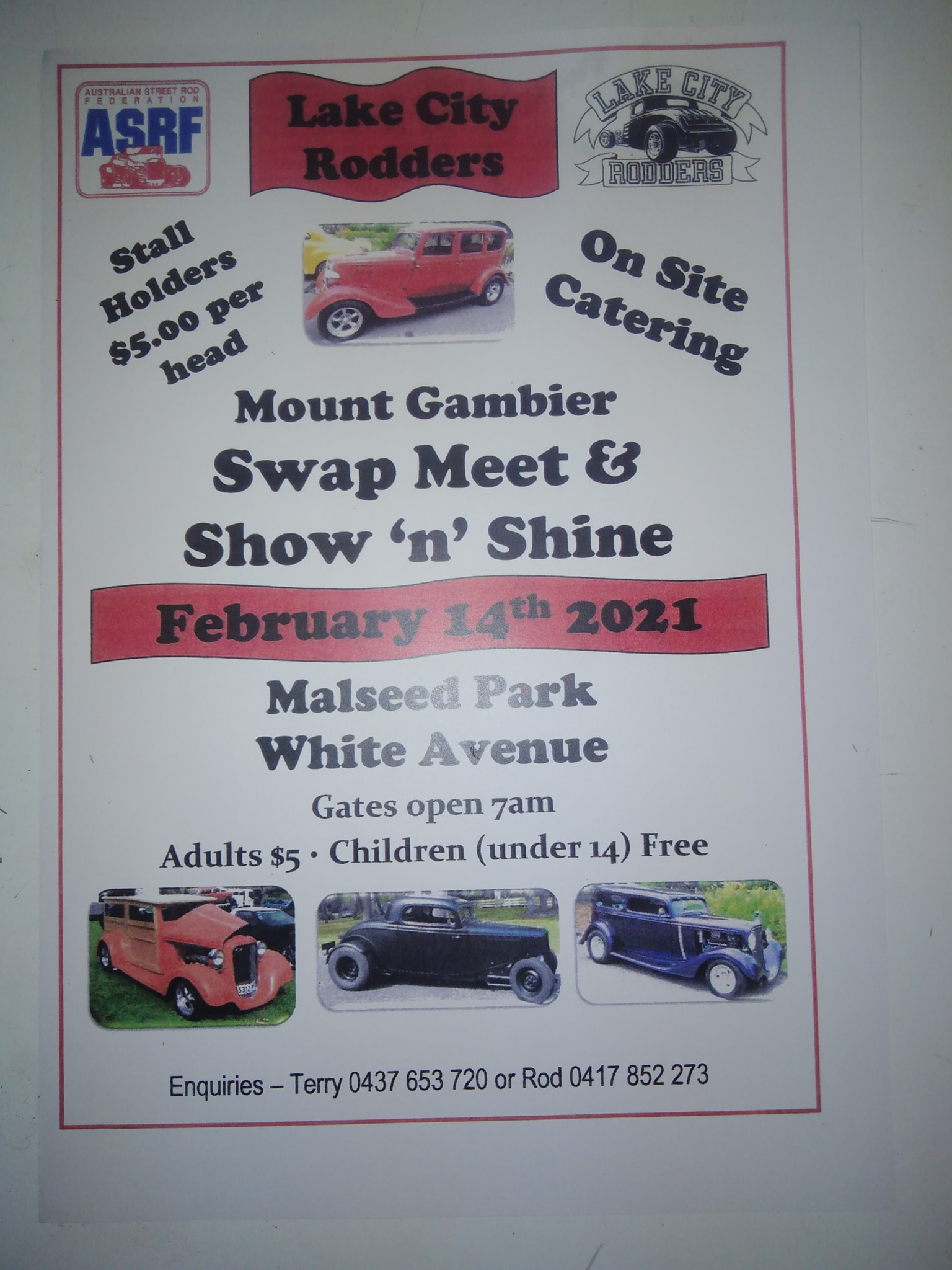 February Lake City Rodders Mount Gamier 2021 Swapmeet @ Malseed Park | Mount Gambier | South Australia | Australia